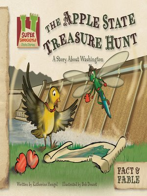 cover image of The Apple State Treasure Hunt