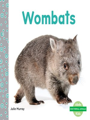 cover image of Wombats
