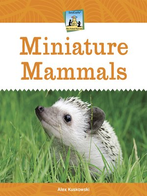 cover image of Miniature Mammals