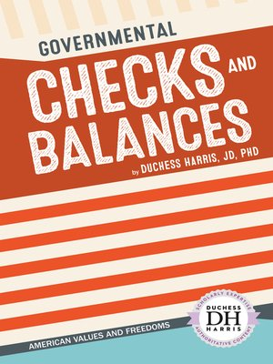 cover image of Governmental Checks and Balances