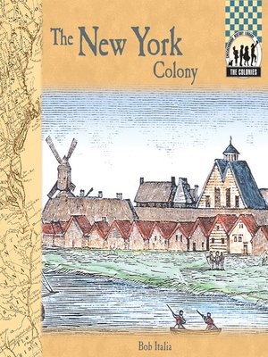 cover image of New York Colony