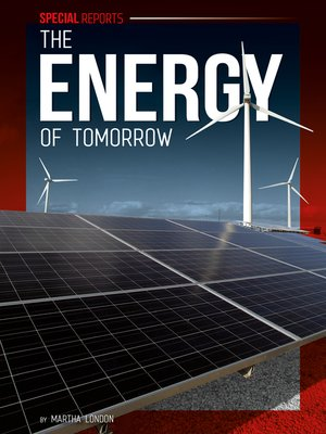 cover image of The Energy of Tomorrow