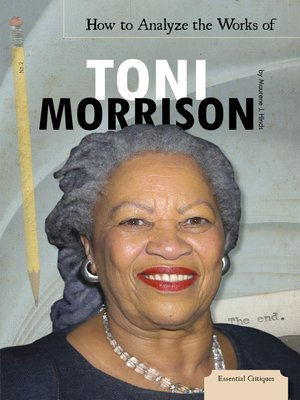 cover image of How to Analyze the Works of Toni Morrison