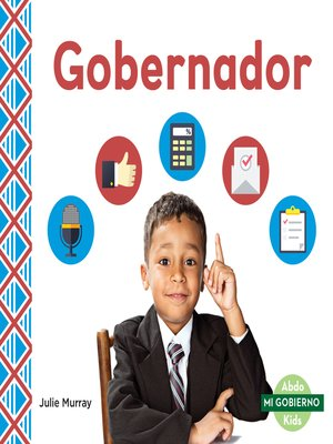 cover image of Gobernador (Governor)