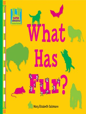cover image of What has Fur?