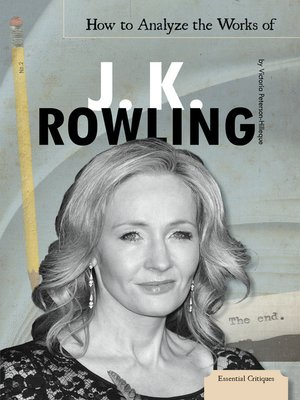 cover image of How to Analyze the Works of J. K. Rowling