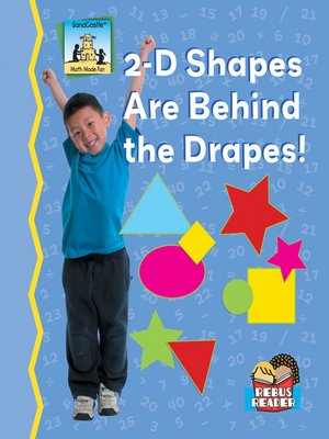 cover image of 2-D Shapes Are Behind the Drapes!