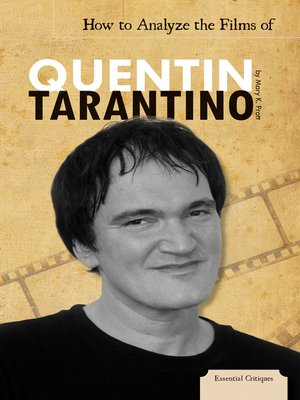cover image of How to Analyze the Films of Quentin Tarantino