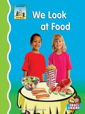 cover image of We Look at Food