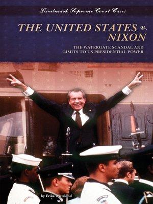 cover image of United States v. Nixon