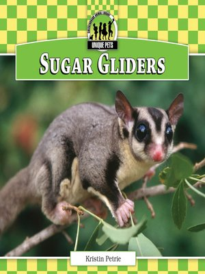 cover image of Sugar Gliders