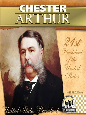 cover image of Chester Arthur