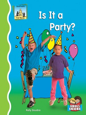 cover image of Is It a Party?