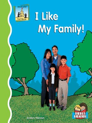 cover image of I Like My Family!
