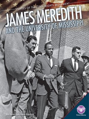 cover image of James Meredith and the University of Mississippi
