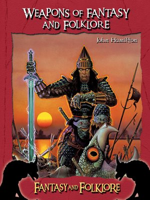 cover image of Weapons of Fantasy and Folklore