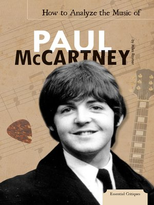 cover image of How to Analyze the Music of Paul McCartney