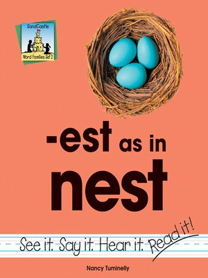 cover image of est as in nest
