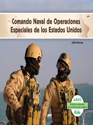 cover image of Fuerza Naval de operaciones especiales de los Estados Unidos