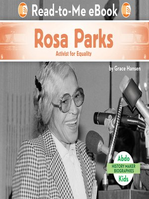 cover image of Rosa Parks: Activist for Equality