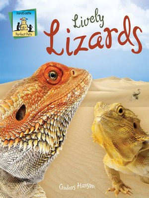 cover image of Lively Lizards