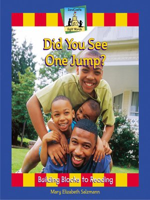 cover image of Did You See One Jump?