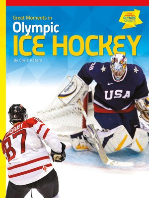 cover image of Great Moments in Olympic Ice Hockey
