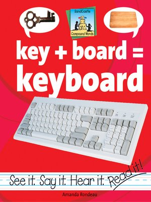 cover image of Key + Board=Keyboard