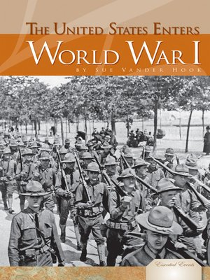 cover image of United States Enters World War I
