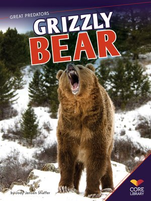 cover image of Grizzly Bear