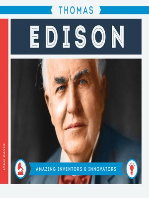 cover image of Thomas Edison