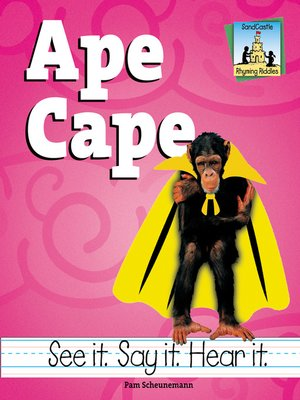 cover image of Ape Cape