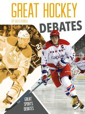cover image of Great Hockey Debates