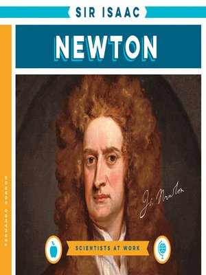 cover image of Sir Isaac Newton