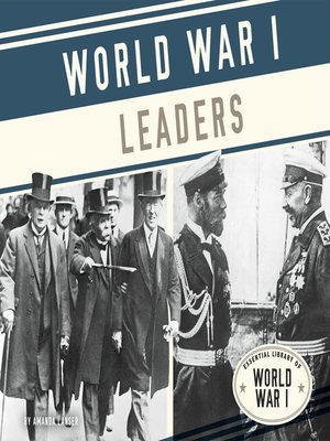 cover image of World War I Leaders
