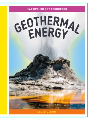 cover image of Geothermal Energy