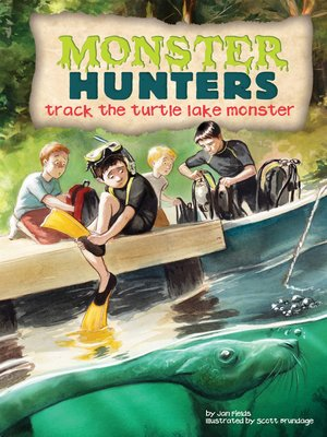 cover image of Track the Turtle Lake Monster