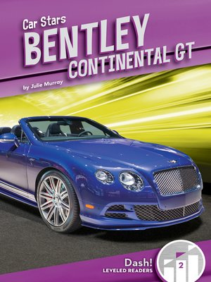 cover image of Bentley Continental GT