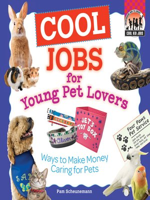 cover image of Cool Jobs for Young Pet Lovers