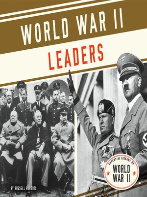 cover image of World War II Leaders