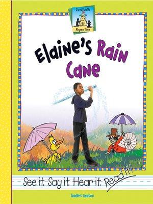 cover image of Elaine's Rain Cane