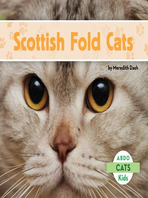 cover image of Scottish Fold Cats