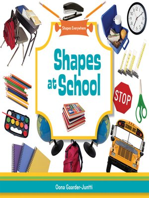 cover image of Shapes at School