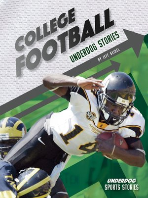 cover image of College Football Underdog Stories