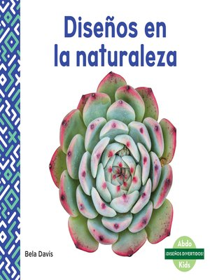 cover image of Diseños en la naturaleza (Patterns in Nature)