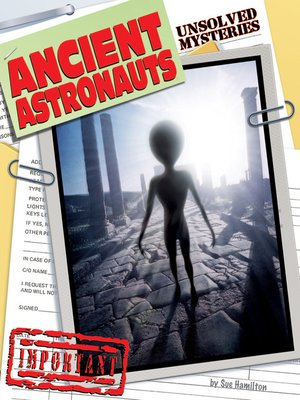cover image of Ancient Astronauts