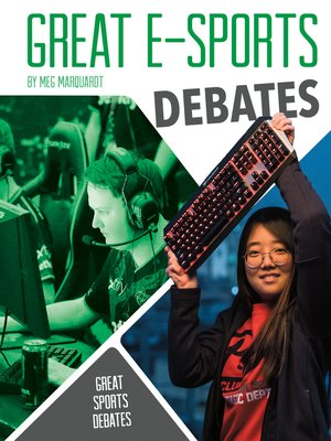 cover image of Great E-Sports Debates