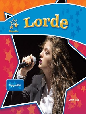 cover image of Lorde