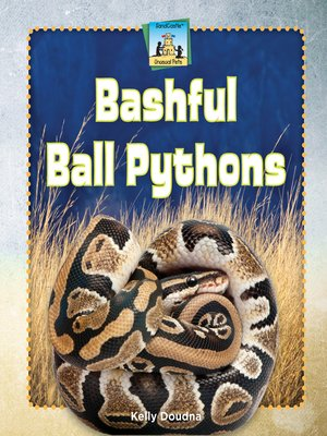 cover image of Bashful Ball Pythons