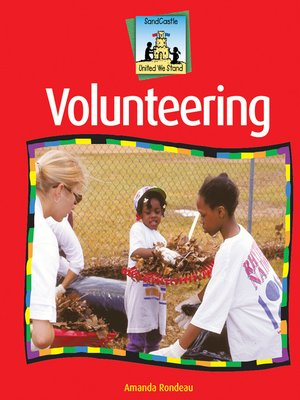 cover image of Volunteering